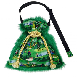 HOLE IN ONE|shoulder kinchaku fur bag [DW19-225]