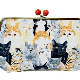 NEKO-MA-MI-RE!|Party clutch bag [DW7-101]