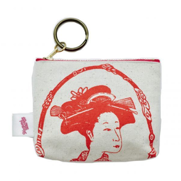 YOSHIWARA NO ONNA coin case (RD) [DW9-006]