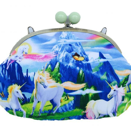 rainbow unicorn|Clutch bag [DW3-183]