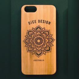 "Bamboo iPhone case B ""Sunflower"" (SE/6/6s/7/8/X/7Plus/8Plus)"