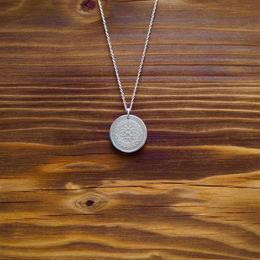 Nature COiN pendant necklace  [Silver 925]