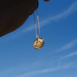 Nature MiNi Pendant Necklace [K18 イエローゴールド]