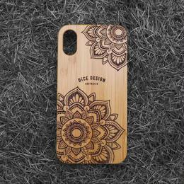 "Bamboo iPhone case ""Sunflower B"""