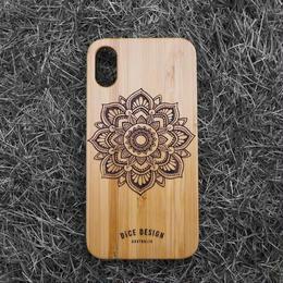 "Bamboo iPhone case ""Sunflower A"""