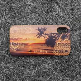 "Bamboo iPhone case ""Sunset"""