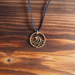 WAVE COiN Pendant Top [Brass]