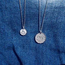 Nature coin/Mini Pendant Necklace  [シルバー925]