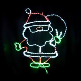 LED イルミネーション ディスプレイ 飾り 照明 ライティング クリスマス プレゼントサンタ【L2DM275】CR-72