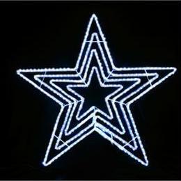 イルミネーション ディスプレイ 飾り 照明 ライティング クリスマス  星 LEDビッグスター白色【L2DM601W】CR-75
