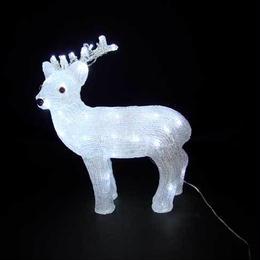 LED イルミネーション ディスプレイ 飾り 照明 ライティング クリスマス  アクリルリトルトナカイ 【L3D204】