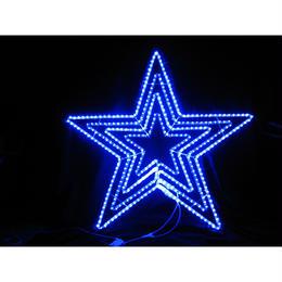 イルミネーション ディスプレイ 飾り 照明 ライティング クリスマス   LED ビッグスター青色【L2DM601B】CR-75