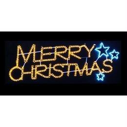 LED イルミネーション ディスプレイ 飾り 照明 ライティング クリスマス  メリークリスマス【L2DM180】CR-79
