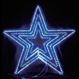 イルミネーション ディスプレイ 飾り 照明 ライティング 星 クリスマス  LEDビッグスター青色【L2DM601B】CR-75