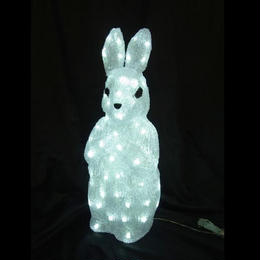 LED イルミネーション ディスプレイ 飾り 照明 ライティング クリスマス  ラビット【L3D197】CR-90