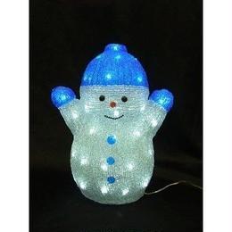 LED イルミネーション ディスプレイ 飾り 照明 ライティング クリスマス   雪だるま ブルースノーマン【L3D600】CR-84