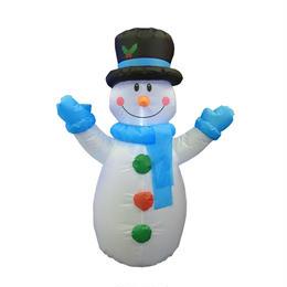 空気 LED イルミネーション ディスプレイ 飾り 照明 ライティング クリスマス  雪だるま エアー スノーマン 【AR101】CR-84