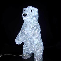 LED イルミネーション ディスプレイ 飾り 照明 ライティング クリスマス  スタンドアップベア【L3D194】CR-88