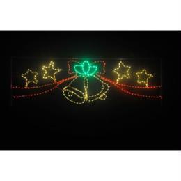 LED イルミネーション  ベル&スター ディスプレイ 飾り 照明 ライティング クリスマス【L2DM289】CR-71