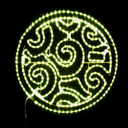 LED イルミネーション ディスプレイ 飾り 照明 ライティング クリスマス   デザインサークル【L2DM296】CR-73