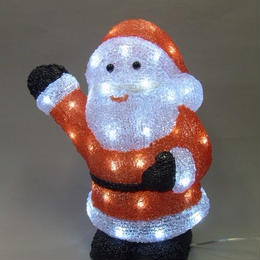 LED イルミネーション ディスプレイ 飾り 照明 ライティング クリスマス  サンタクロース【L3D800】CR-85