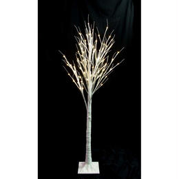 LED 木 イルミネーション ディスプレイ 飾り 照明 ライティング クリスマス 白木ライト 150cm【TRE150D】CR-57