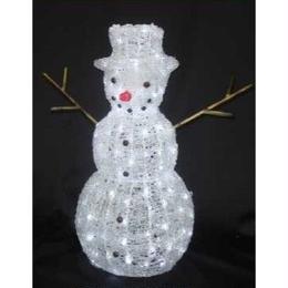 LED イルミネーション ディスプレイ 飾り 照明 ライティング クリスマス  雪だるま スノーマン 【L3D140】CR-84