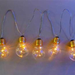 室内用 イルミネーション LED パーティー バルブ ライト 30球 クリスマス パーティ 電球【PAB10】CR-99