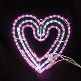 イルミネーション ディスプレイ 飾り 照明 ライティング クリスマス   LED ハート【L2DM202】CR