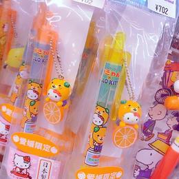みきゃん×ハローキティコラボボールペン/シャープペンシル