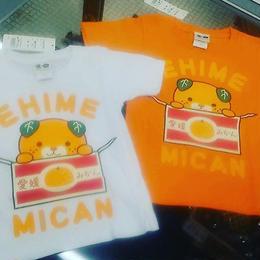 オレンジ、箱からみきゃんTシャツ