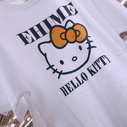 愛媛限定キティTシャツ、白