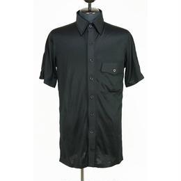Kohshin Satoh 一点もの コットン×レーヨン シャツ 胸ポケット メンズ〔SL-192-1〕