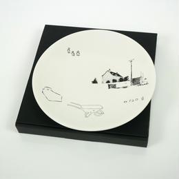 DEVASTEE 21cm プレート 美濃焼き〔ZK5DCM-18002