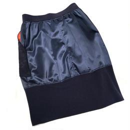 キルティングポケット付きMA-1スカート〔64217-02〕