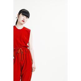 Goto Asato カラーシルク ボタントップ〔TRV18-BL01〕