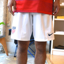"""NIKE"" DRI-FIT USA HOME SHORTS (WHITE)"