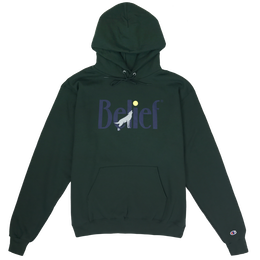 """BELIEF"" MIDNIGHT HOODY (FOREST)"