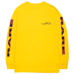"""RARE PANTHER"" OAKLAND L/S TEE (YELLOW)"