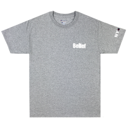 """BELIEF"" WORLD TRADE CHAMPION™ TEE (HEATHER GREY)"