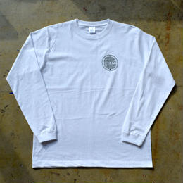 """PROOF"" MANHOLE L/S TEE (WHITE)"