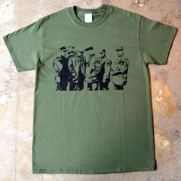 """PUBLIC ENEMY"" SILHOUETTE S/S TEE (OLIVE)"