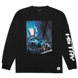 """HSTRY"" ESCAPE L/S TEE (BLACK)"