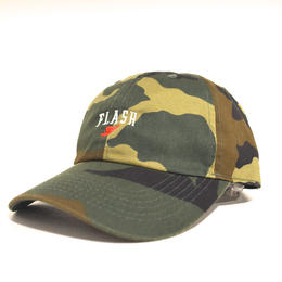 """FLASH ORIGINAL"" WING FOOT 6PANEL CAP (CAMO)"