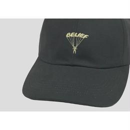 """""""BELIEF"""" PARACHUTE CAP (GRAPHITE)"""