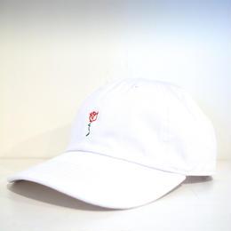 """BRVND"" ROSE CAP (WHITE)"