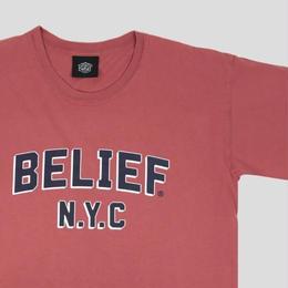 """""""BELIEF"""" COLLEGE TEE (CUMIN)"""