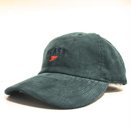 """FLASH ORIGINAL"" WING FOOT CORDUROY CAP (GREEN)"