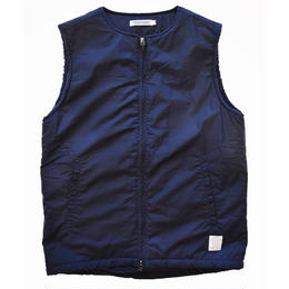 """RANCH STANDARD"" COTTON POPLIN VEST (NAVY)"