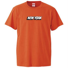 NEW YORK S/S TEE (ORANGE)